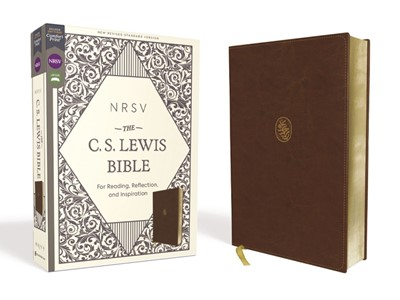 NRSV The C. S. Lewis Bible, Brown, Comfort Print (Imitation Leather)