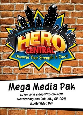 Vacation Bible School 2017 VBS Hero Central Mega Media Pak (Mixed Media Product)