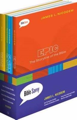 Bible Savvy Set Of 4 Books (Multiple Copy Pack)