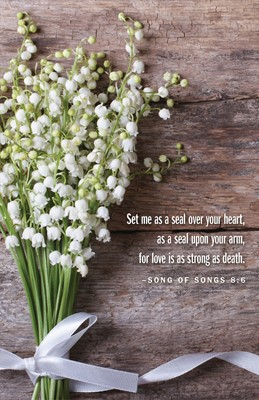 Lily of the Valley Wedding Bulletin (Pkg of 50) (Loose-leaf)