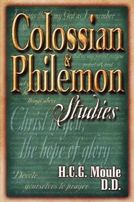 Colossian And Pilemon Studies (Paperback)