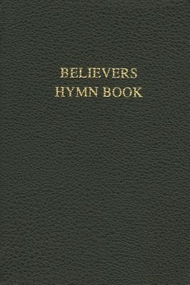 Believers Hymn Book Rev Ed Black Leather (Bonded Leather)
