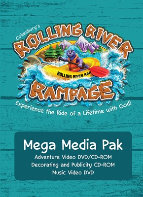 VBS 2018 Rolling River Rampage Mega Media Pak (Mixed Media Product)