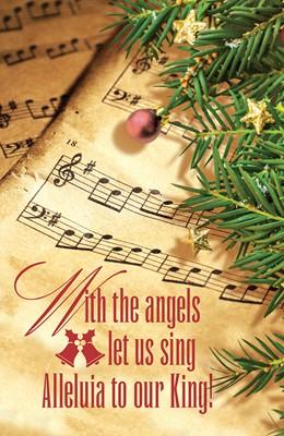 Our King Music Christmas Bulletin (Pkg of 50) (Loose-leaf)