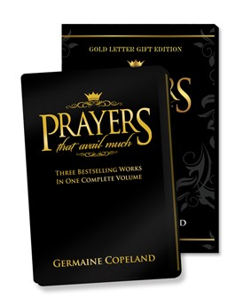 Prayers That Avail Much Gold Letter Gift Edition (Leather Binding)