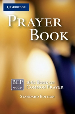 Book of Common Prayer (BCP) Standard Ed., Black (Leather Binding)
