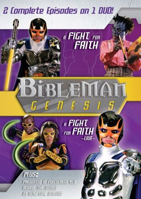 Bibleman Genesis Vol. 7: A Fight For Faith / A Fight For Fai (DVD Video)