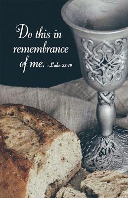 Do This Communion Bulletin (Pkg of 50) (Loose-leaf)