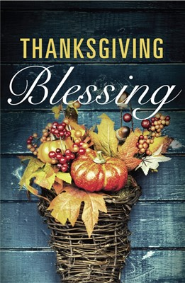 Thanksgiving Blessing (Ats) (Pack Of 25) (Tracts)