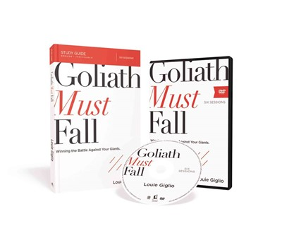 Goliath Must Fall Study Guide With DVD (Paperback w/DVD)