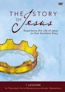 The Story Of Jesus Children's Curriculum (DVD)