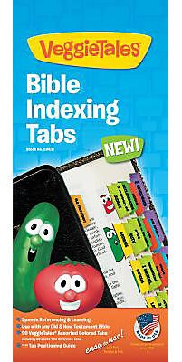 Bible Index Tabs Veggietales (Tabbies)