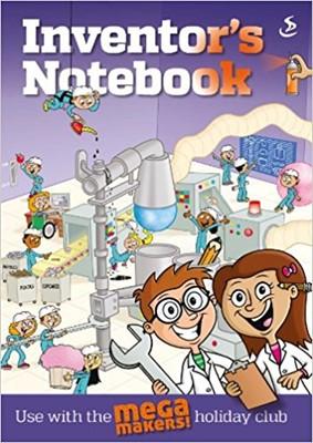 Mega Maker: Inventors Notes Pk10 (Multiple Copy Pack)