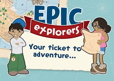 Epic Explorers Invitations (Pack of 50) (Cards)