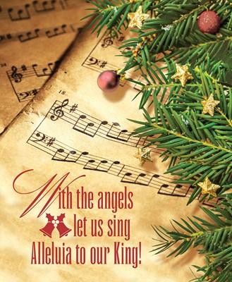 Our King Music Christmas Bulletin, Large (Pkg of 50) (Loose-leaf)