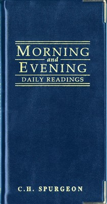 Morning And Evening (Leather Binding)