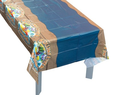 VBS 2018 Rolling River Rampage Tablecloth (General Merchandise)
