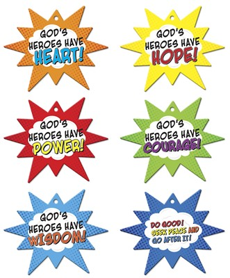 VBS Hero Central Hero Code Mobiles (Pack of 6) (General Merchandise)