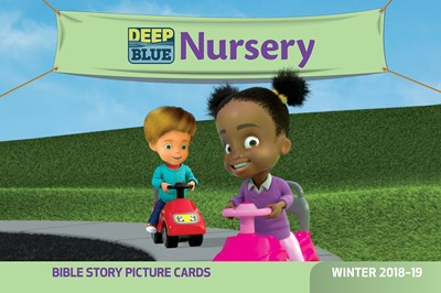 Deep Blue Nursery Bible Story Picture Cards Winter 2018-19 (Cards)