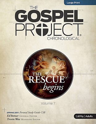 Rescue Begins, The: Personal Study Guide LP Spring 2017 (CSB (Paperback)