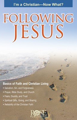Following Jesus (Pamphlet)