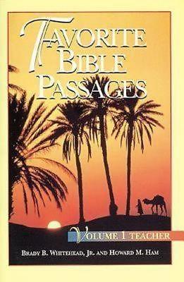 Favorite Bible Passages Volume 1 (Paperback)