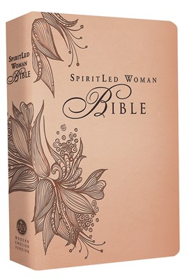 Spiritled Woman Bible (Rose Tan) (Leather Binding)
