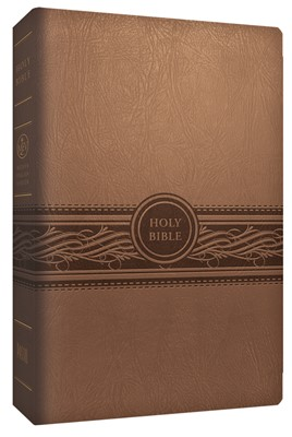 MEV Personal Size Large Print, Tan (Leather Binding)