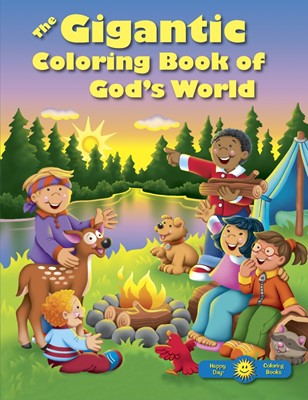 The Gigantic Coloring Book Of God's World (Paperback)
