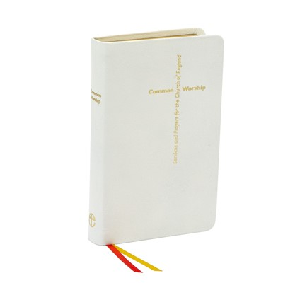 Common Worship, Calfskin, Leather, White (Leather Binding)