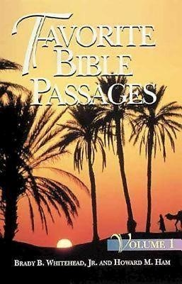 Favorite Bible Passages Volume 1 Student Book (Paperback)