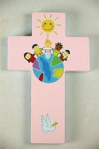 Children of the World Cross Pink (Paperback)