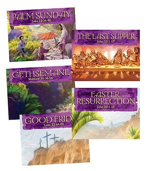 Walk With Jesus Collector Cards (25 sets) (Cards)