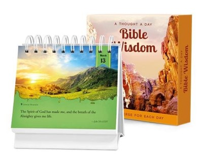 Thought a Day Bible Wisdom, A (Spiral Bound)