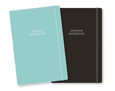 Sermon Notebook, Black (Paperback)