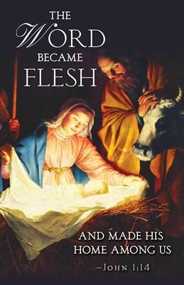 The Word Nativity Christmas Bulletin (Pkg of 50) (Loose-leaf)