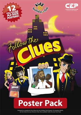 Follow The Clues (Full Colour A2 Poster Pack Of 12) (Poster)