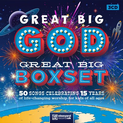 Great Big God Great Big Box Set CD (CD-Audio)