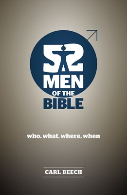 52 Men Of The Bible (Paperback)
