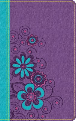 NLT Girls Life Application Study Bible (Leather-Look)