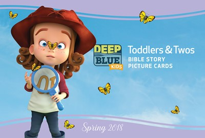 Deep Blue Kids Toddlers & Twos Bible Story Picture Cards (Cards)