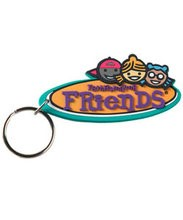 FaithWeaver Friends Elementary Key Chain (Keyring)