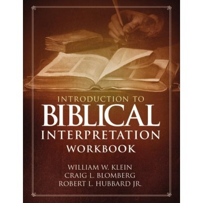 Indroduction To Biblical Interpretation Workbook (Paperback)