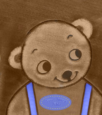 Tiny Bear Bible Blue (Novelty Book)