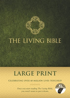 The Living Bible Large Print Edition (Hard Cover)