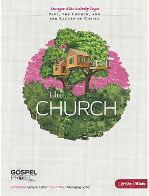 Church, The: Younger Kids Activity Pages (Paperback)