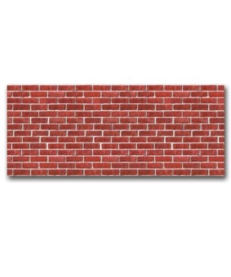 Red Brick Plastic Backdrop (Other Merchandise)