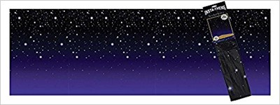 Starry Night Plastic Backdrop (Other Merchandise)