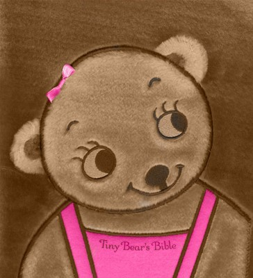 Tiny Bear Bible Pink (Novelty Book)