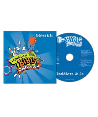 Hands-On Bible Curriculum Toddlers&2s CD Spring 2017 (CD-Audio)